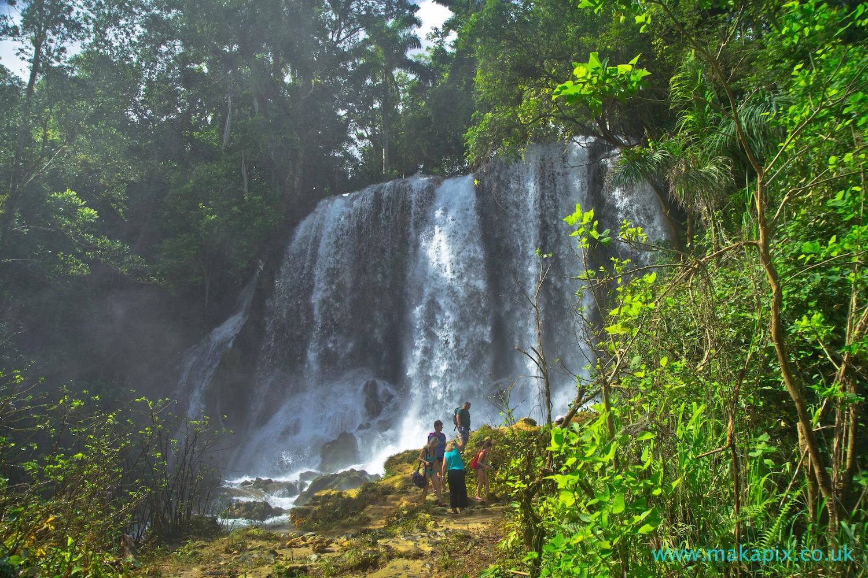 El Nicho Waterfalls, Cuba