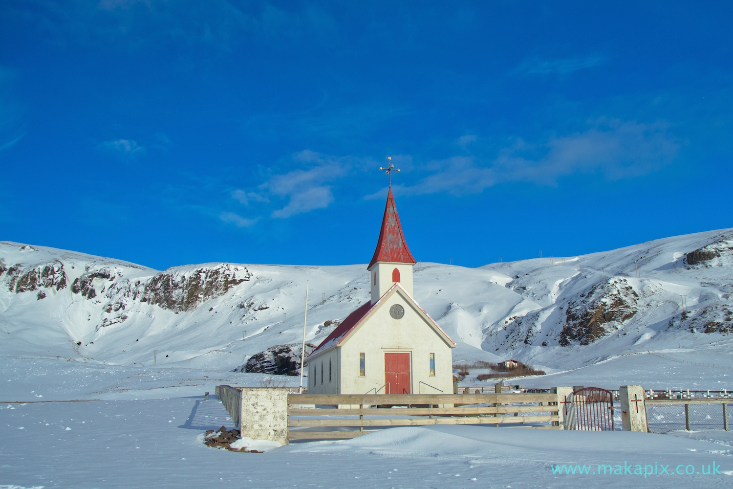 Reyniskirkja church, Vik, Iceland