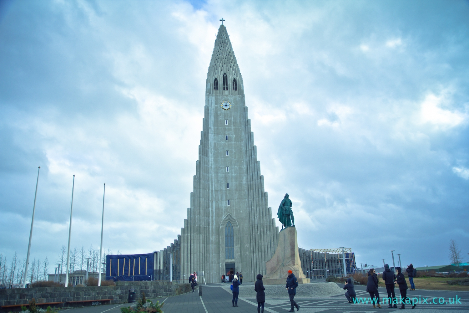 Church in Reykjavik, Iceland