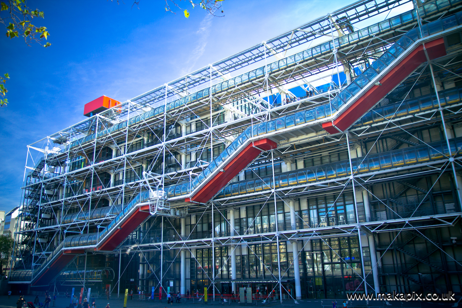 The Centre Pompidou, Paris, France