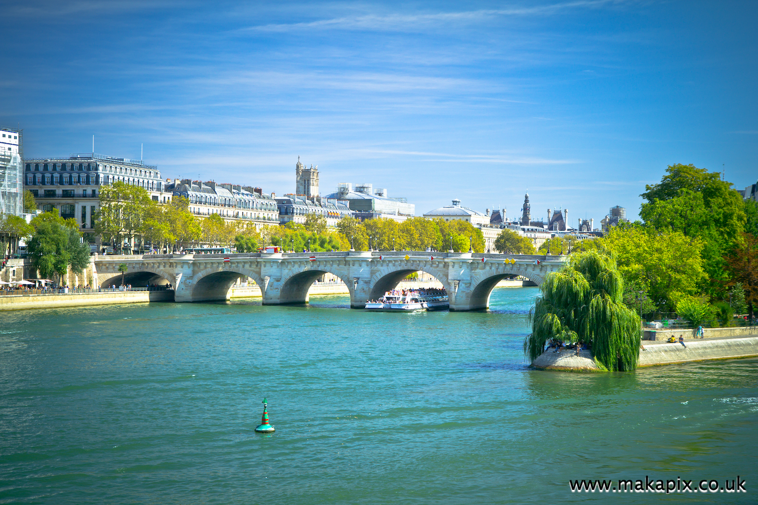 The river Seine, Paris, France