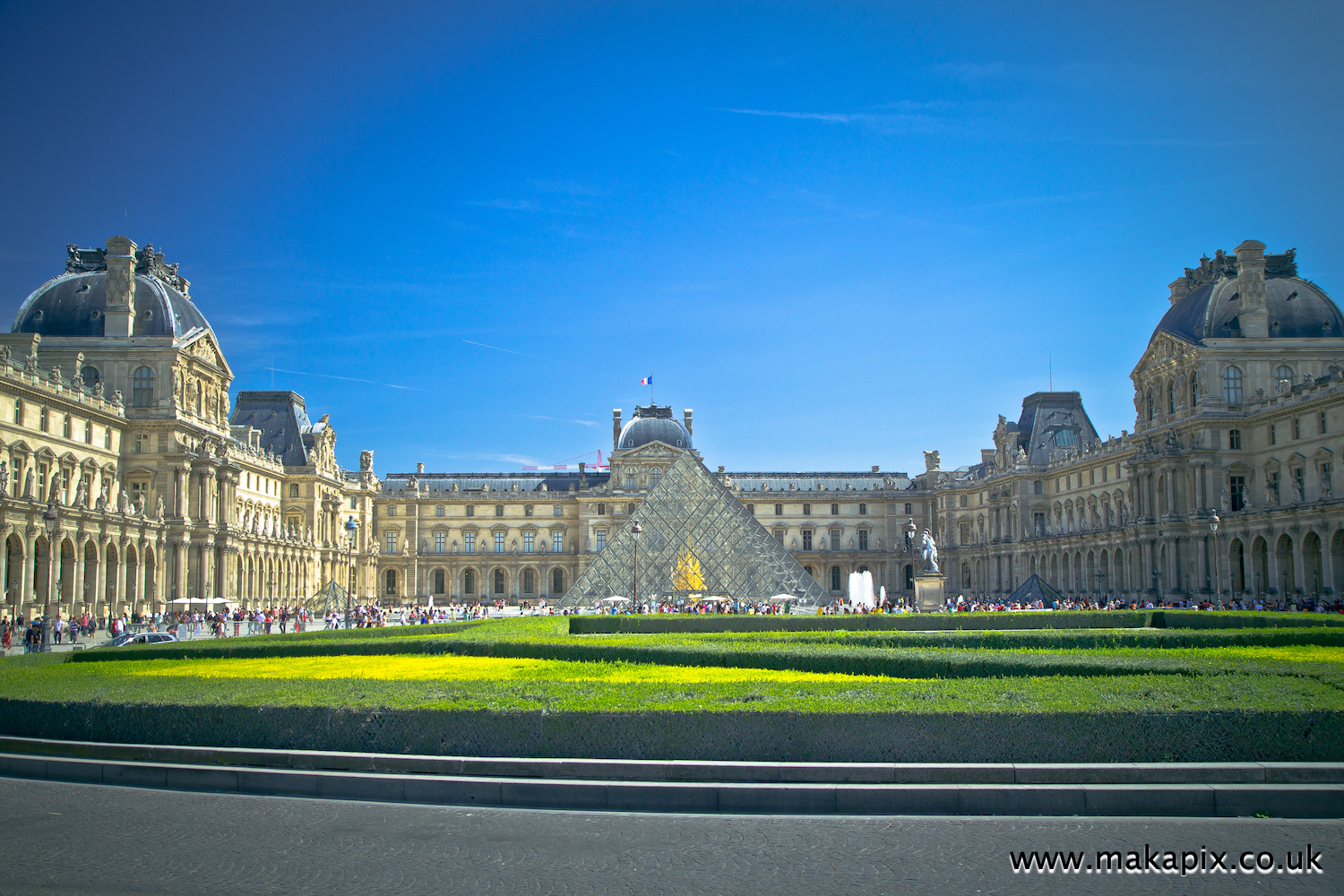 Louvre Museum, the world's largest art museum, Paris, France