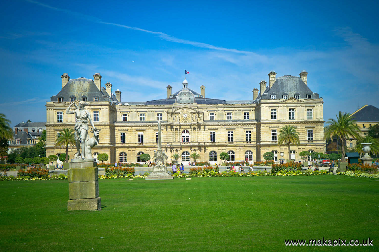 The Jardin du Luxembourg, Paris, France