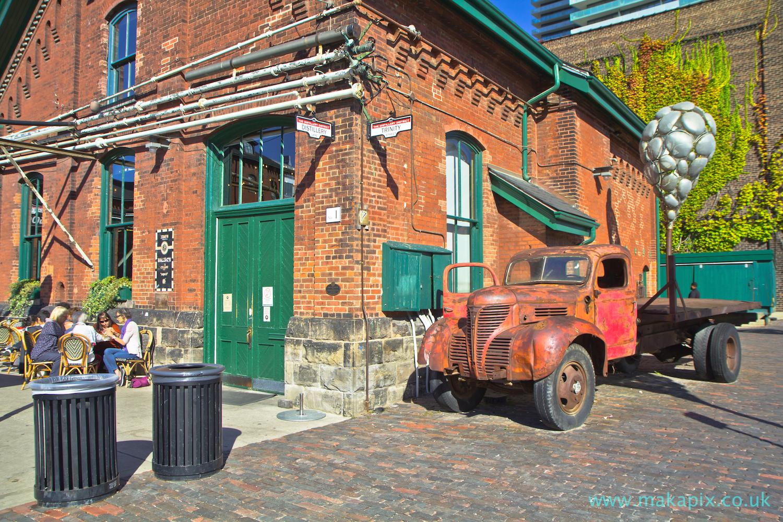 Distillery District, Toronto, Canada