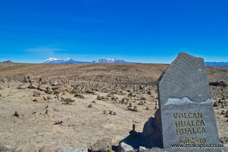 Hualca Hualca volcano, Arequipa region, Peru