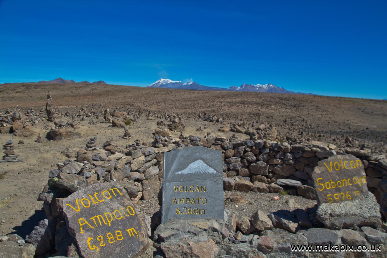 Ampato volcano, Arequipa region, Peru
