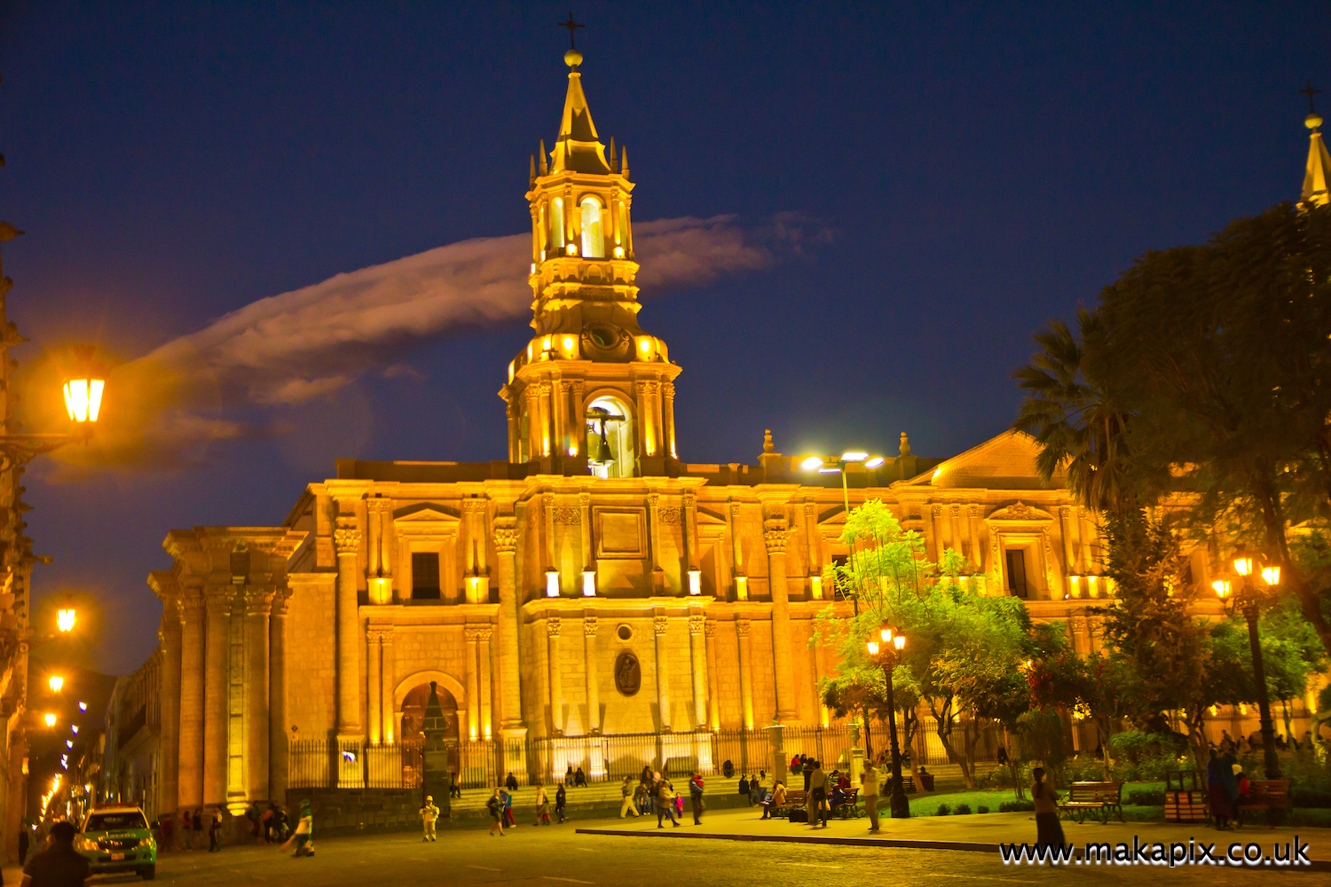 Arequipa is the colonial-era capital of Peru's Arequipa Region