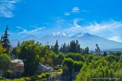 Pichu Pichu volcano, Arequipa region, Peru