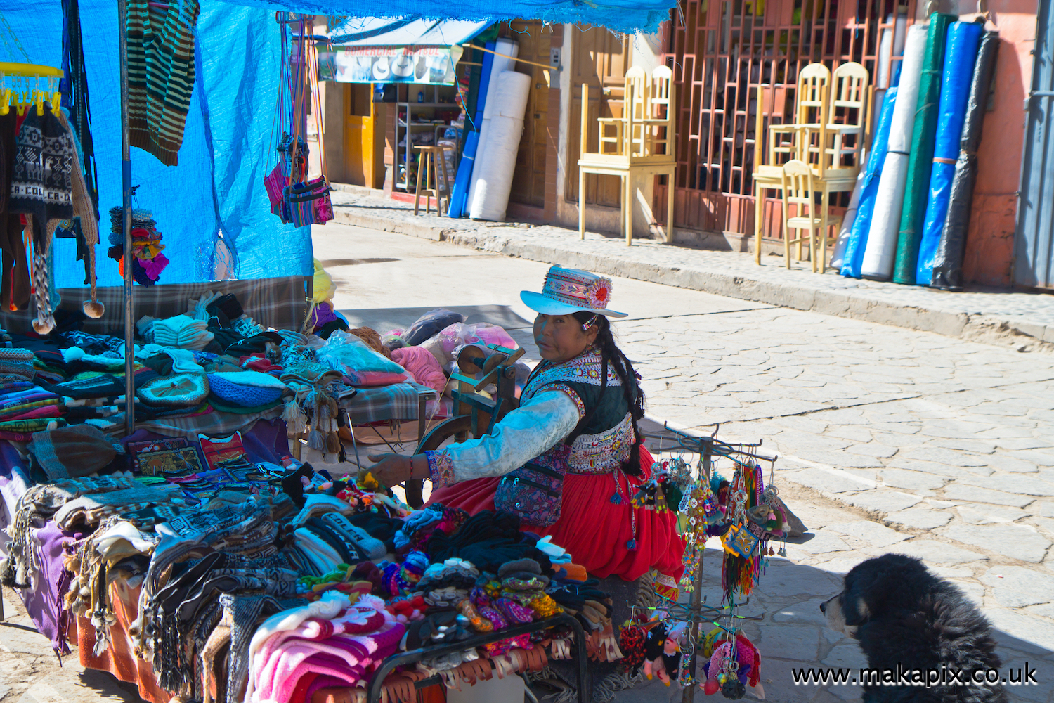 Chivay is a town in southern Peru's Colca Valley