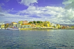Venetian harbor, Chania, Crete, Greece