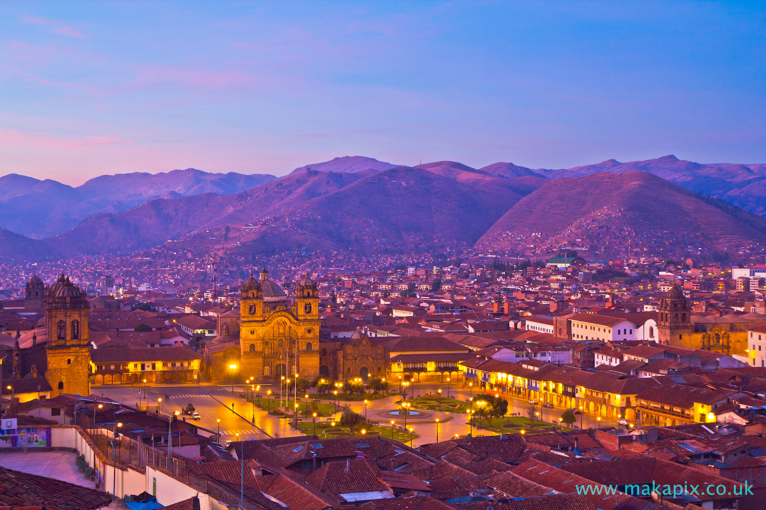 Sunrise in Cusco, Peru