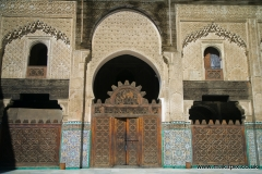 Bou Inania Madrasa, Fes, Morocco