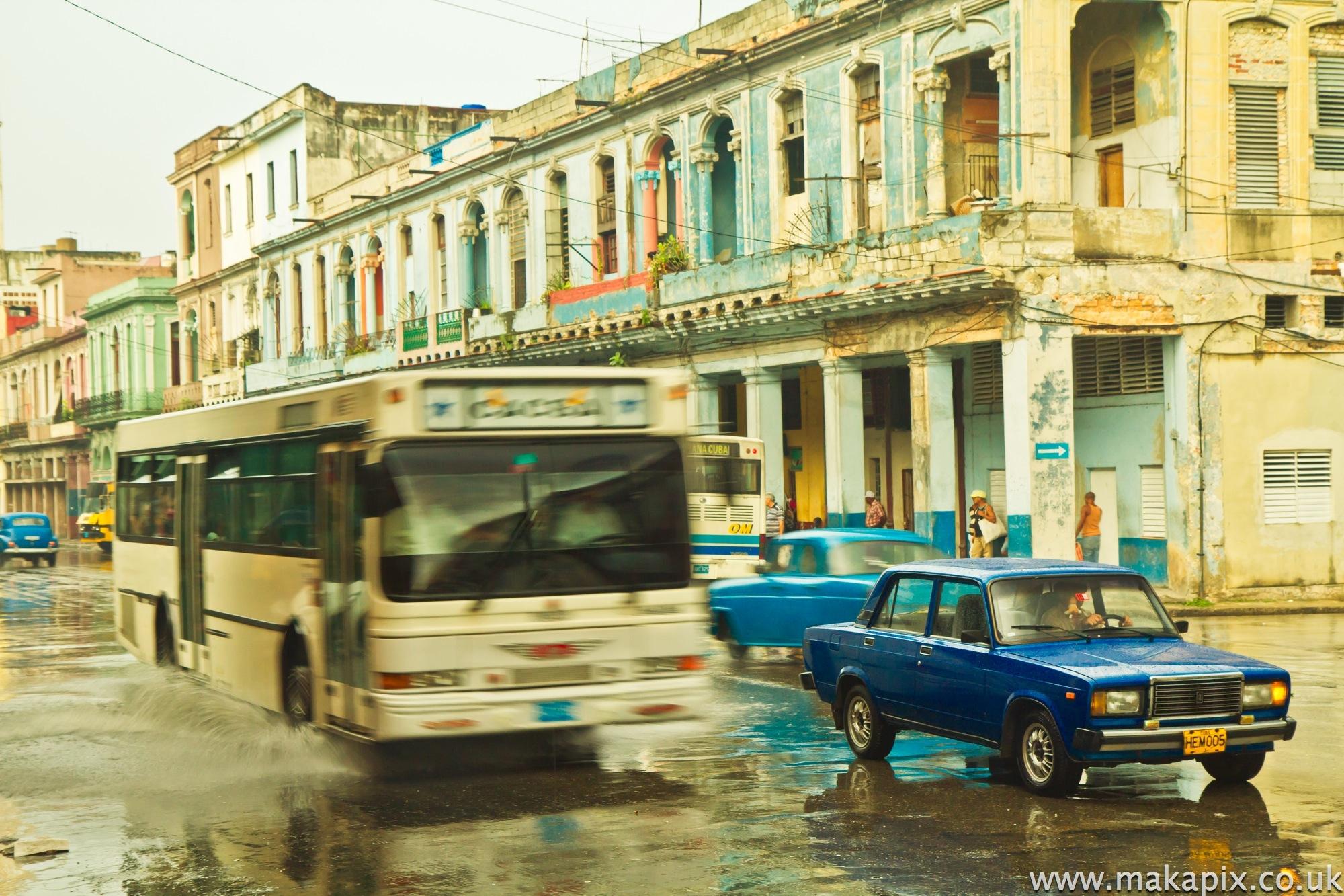 rain in Havana