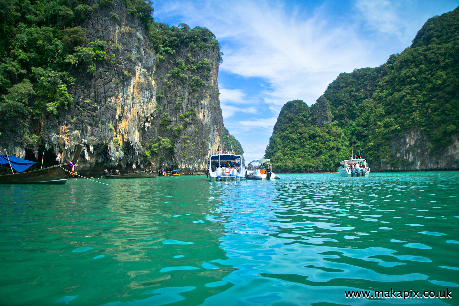 Khao Phing Kan, Thailand also known as James Bond Island