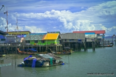 Ko Panyi, a fishing village in Phang Nga Province, Thailand