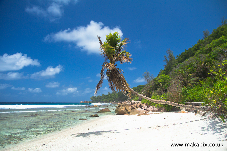 Anse Fourmis beach, La Digue island, Seychelles