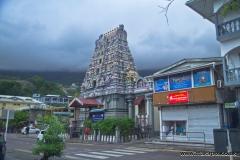 Hindu Temple in Victoria, Mahe Island, Seychelles