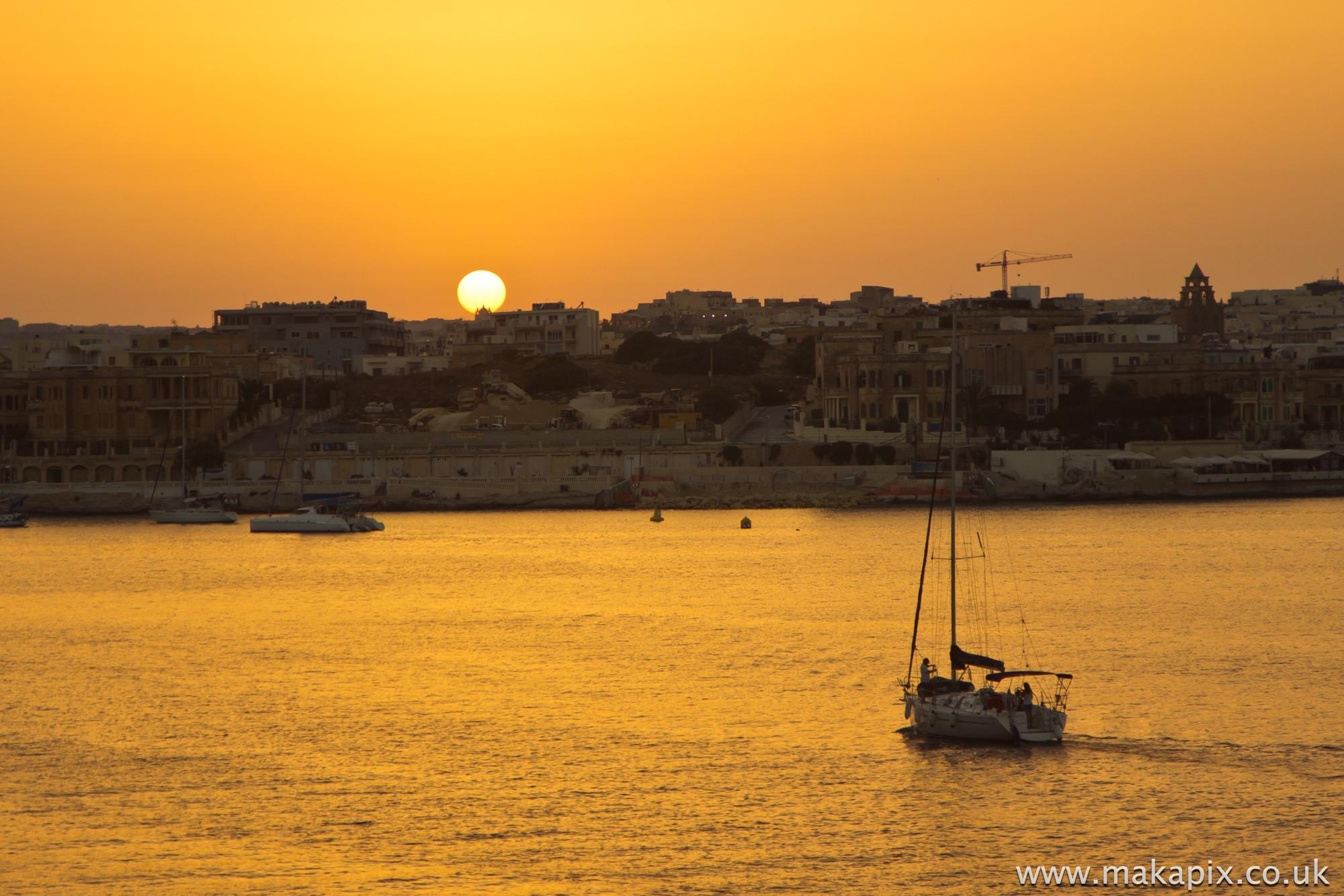 Malta-sunset 2014