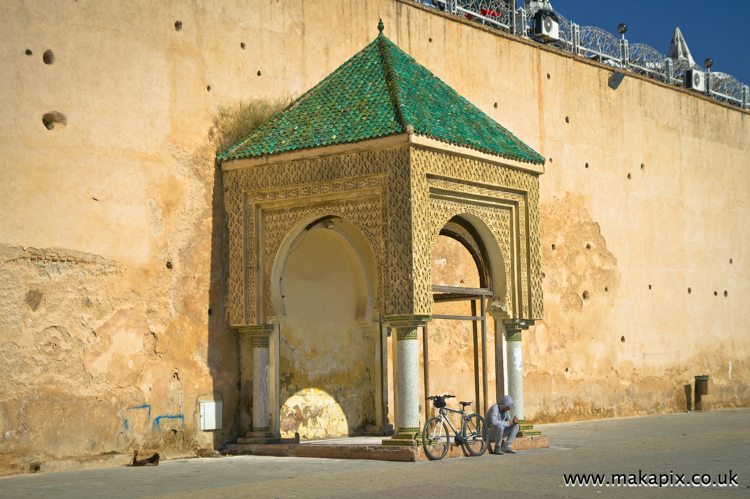 Meknes is one of the four Imperial cities of Morocco