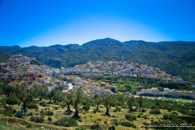 Moulay Idriss Zerhoun, the holiest city of Morocco