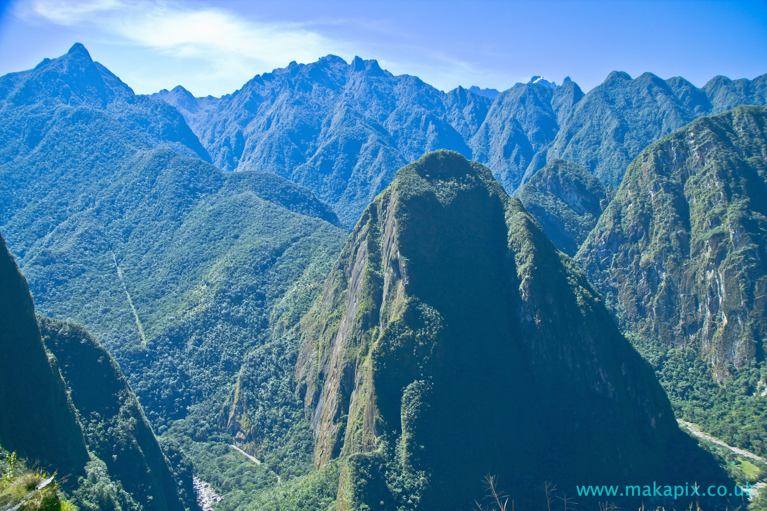Machu Picchu and The Andes