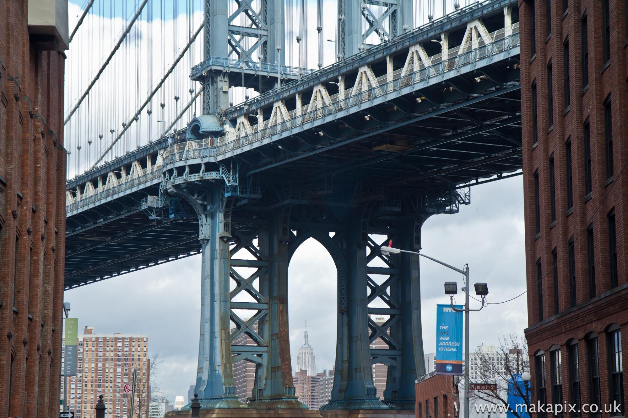 New York City-Manhattan Bridge