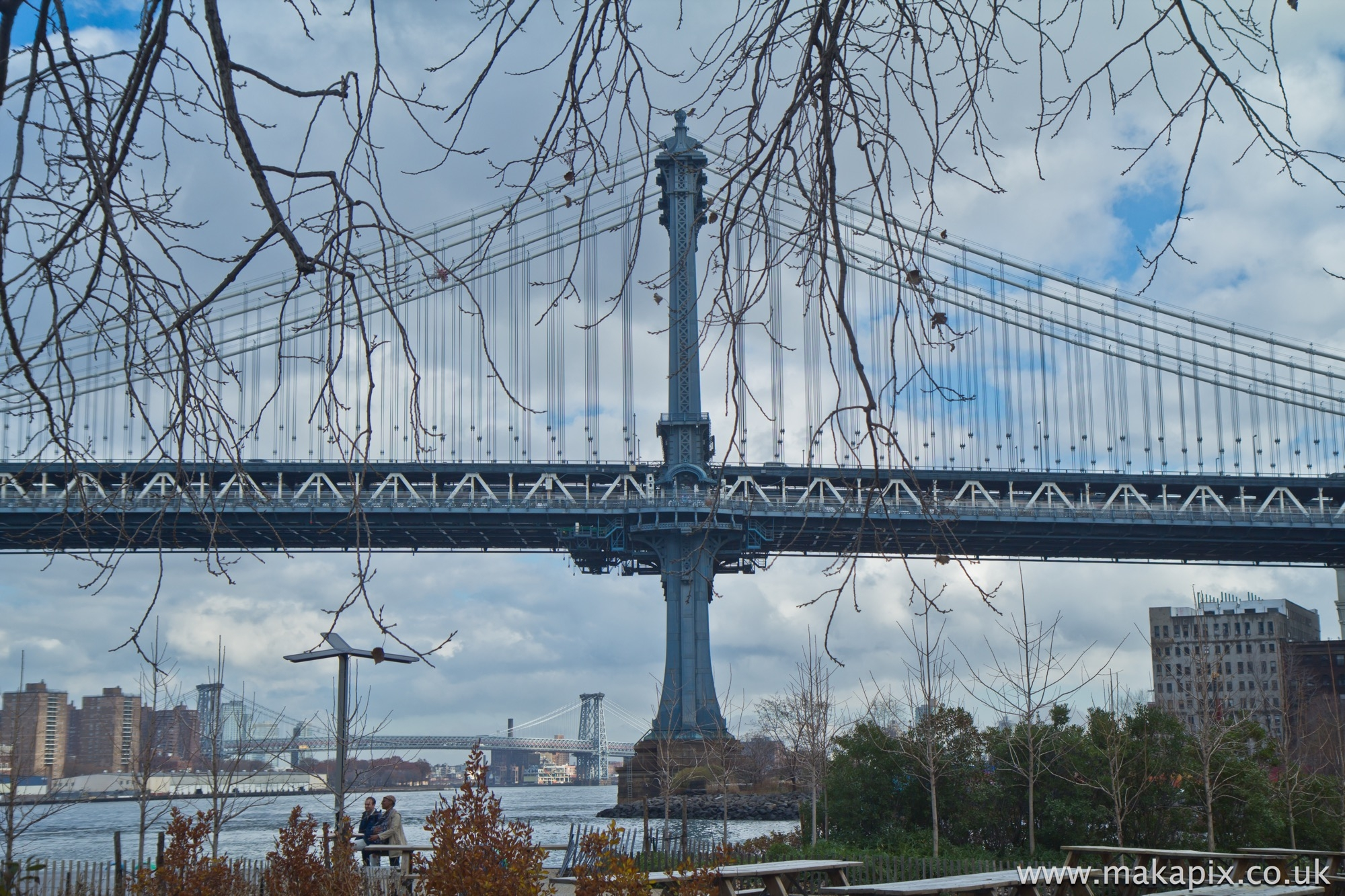 New York City-Manhattan Bridge