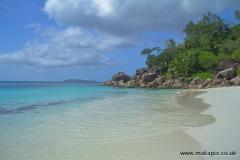 Anse Georgette beach, Praslin island, Seychelles