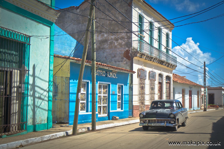 Colonial buildings, Remedios, Cuba