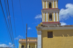 Colonial buildings, Remedios, Cuba