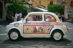 FIAT 500, Sicily, Italy