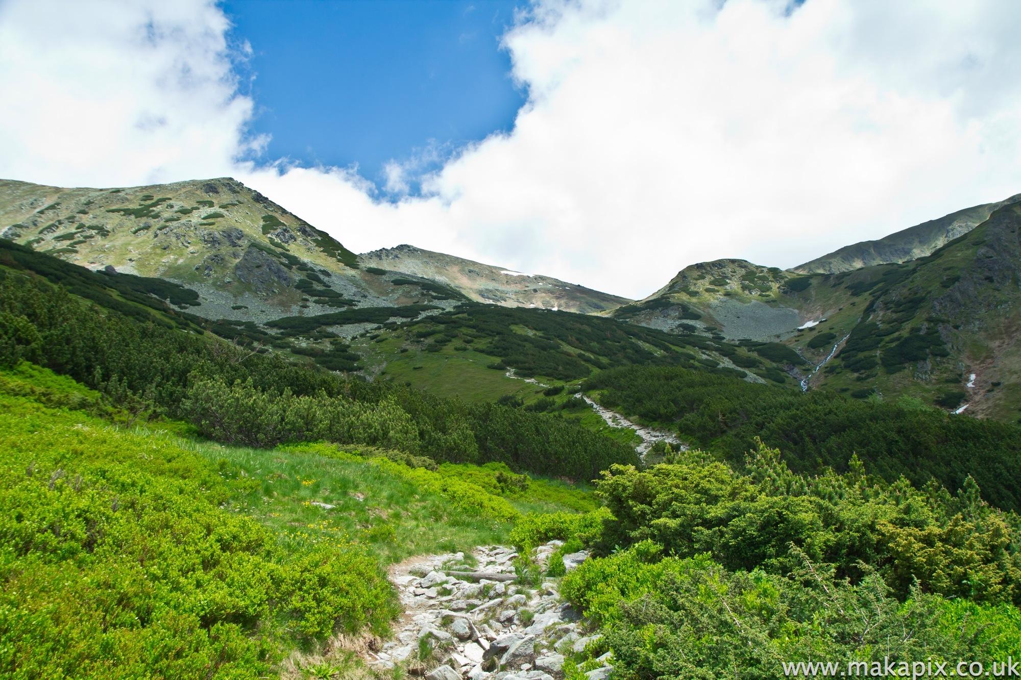 Žiarske sedloWest Tatras, Slovakia 2014