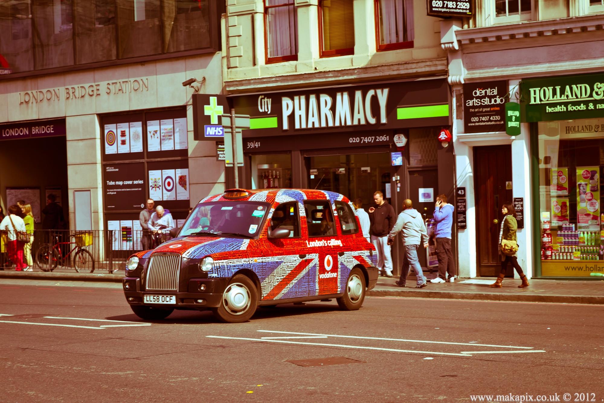 London taxi, London, England
