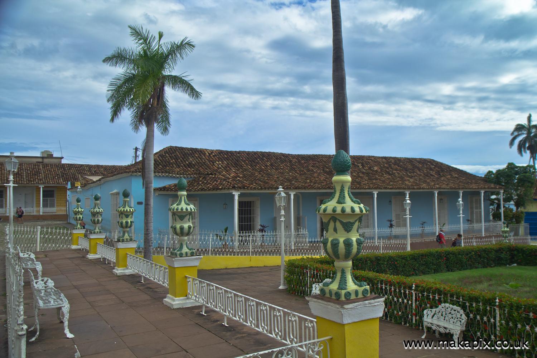 The Plaza Mayor in Trinidad, Cuba