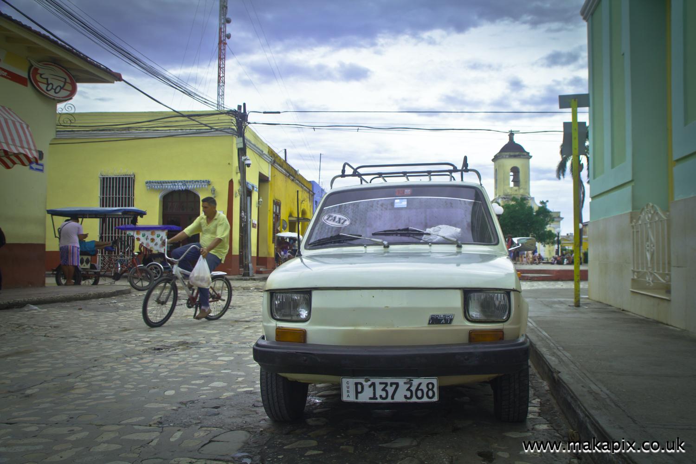 Fiat 126P Maluch, Trinidad, Sancti Spíritus, Cuba