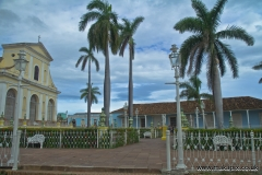 The Plaza Mayor in Trinidad, Cuba