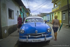 Classic Ford car, Trinidad, Sancti Spíritus, Cuba