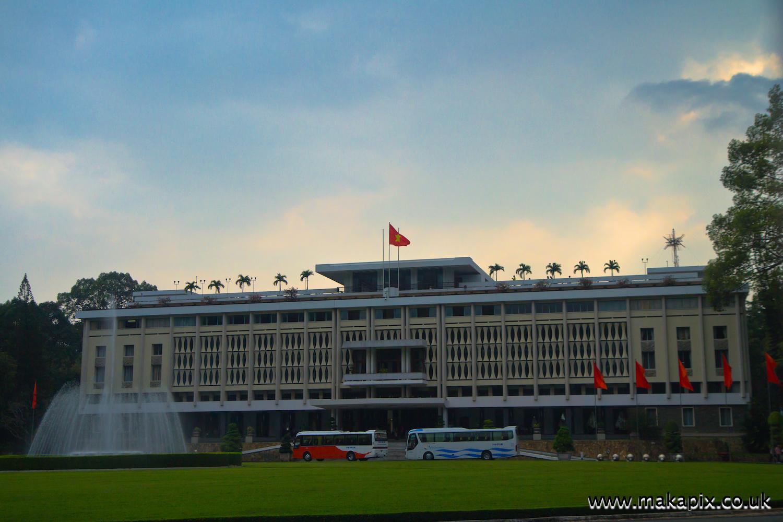 Independence Palace, Ho Chi Minh City (Saigon), Vietnam