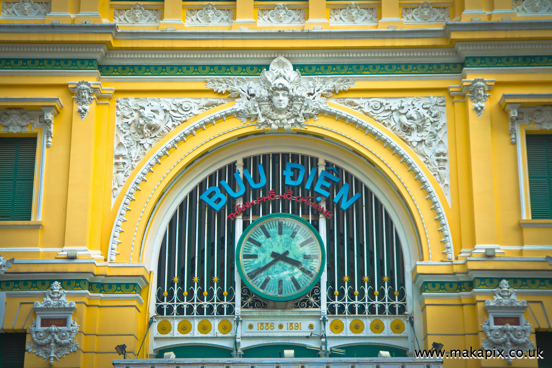Saigon Central Post Office, Vietnam
