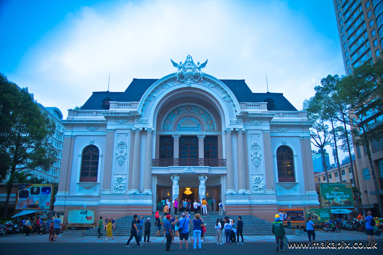 Saigon Municipal Opera House, Ho Chi Minh City, Vietnam